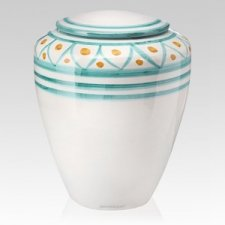 Tuscan Ceramic Cremation Urns