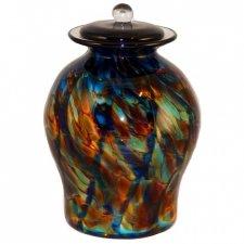 Twilight Glass Cremation Urn