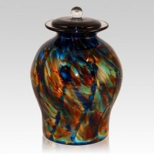 Twilight Glass Cremation Urn