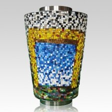 Limen Mosaic Cremation Urn