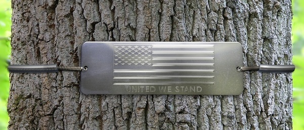 Uinted We Stand Tree Plaque