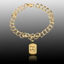 Unique Cremation Charm Bracelet II
