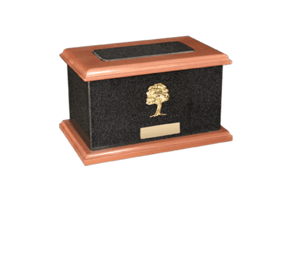 United Nero Absoluto Cremation Urn