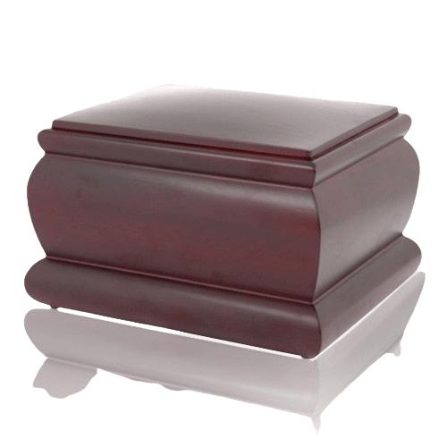 Roman Wood Cremation Urn
