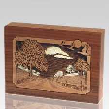 Country Lane Keepsake Cremation Urn