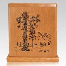Forest Cherry Cremation Urn