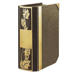 Ivy Book Bronze Companion Cremation Urn