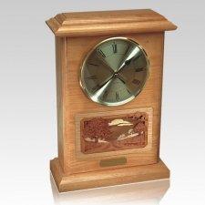 Clock Cremation Urn