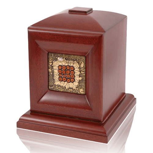 Palermo Wood Cremation Urn