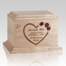 Personalized Heart Children Infant Cremation Urn