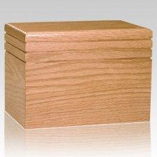 Serenity Wood Children Infant Cremation Urn