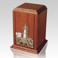 Sherwood LighthouseWood Cremation Urn
