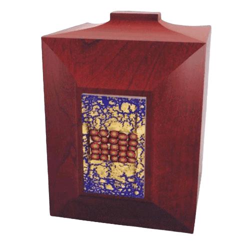 Venezia Wood Cremation Urn
