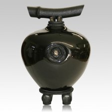 Black Beauty Wish Keeper Double Urn