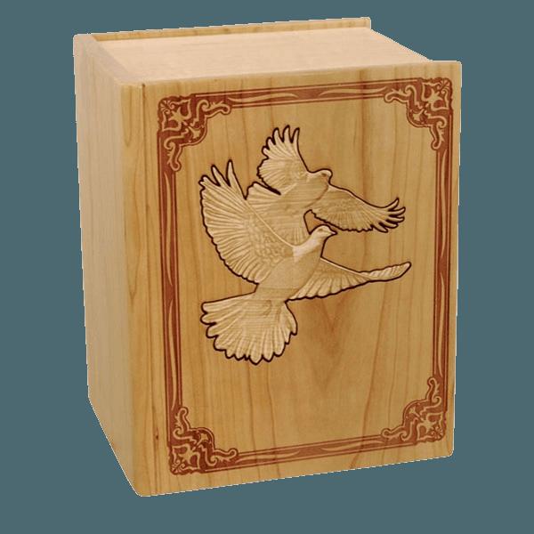 Bible Doves Cherry Companion Urn