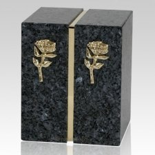 Eternitas Blue Pearl Granite Companion Urn