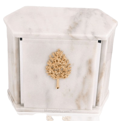 Hexagon Silver White Danby Companion Urn