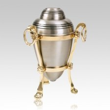 Platinum Stand Companion Cremation Urns