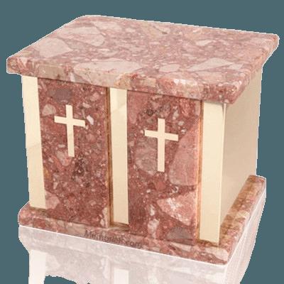 Infinita Pernice Marble Companion Urn