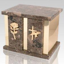 Infinita Rosatica Marble Companion Urn