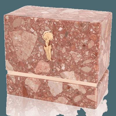 La Nostra Breccia Marble Companion Urn