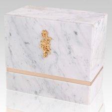 La Nostra Bianco Marble Companion Urn