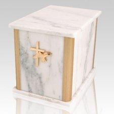 Solitude White Danby Marble Companion Urn