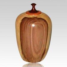 Angel Wood Cremation Urn