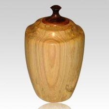 Harvest Wood Cremation Urn