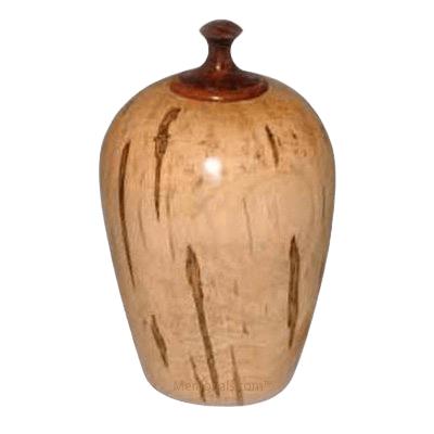 Maple Wood Cremation Urn
