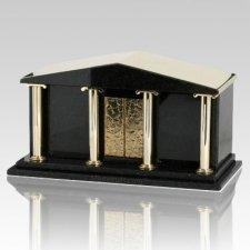 Black Temple Companion Cremation Urn