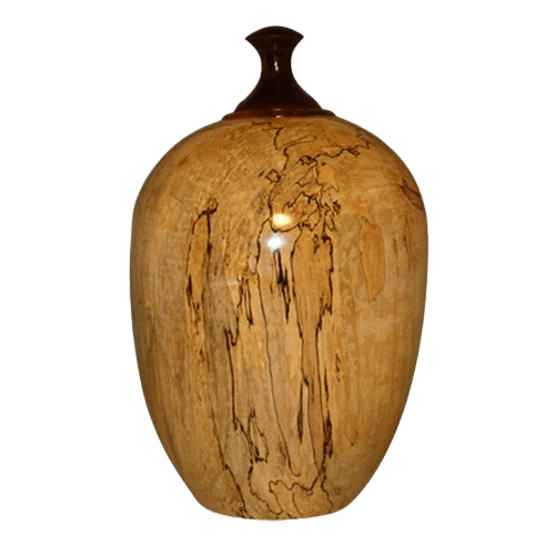 Ambrosia Maple Wood Cremation Urn
