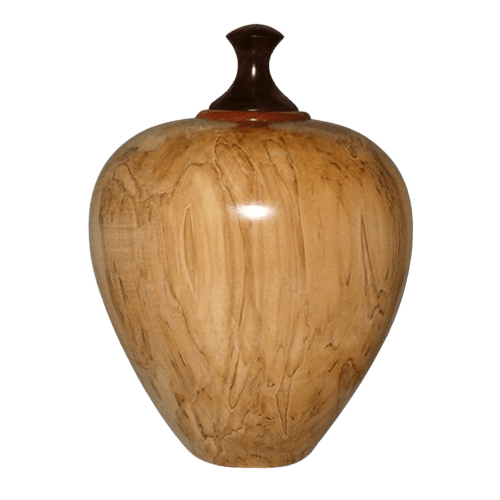 Pelican Wood Cremation Urn