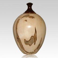Tiger Wood Cremation Urn