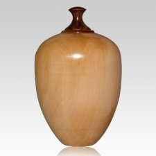 Pear Wood Cremation Urn