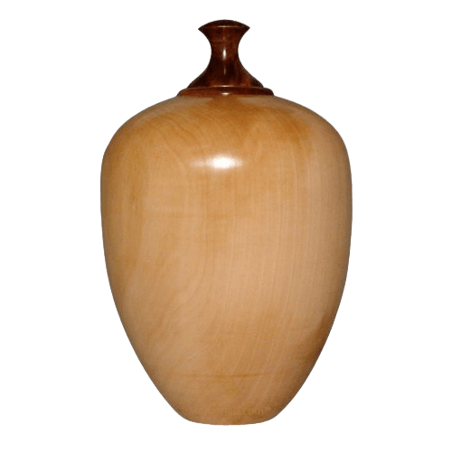 Pear Wood Cremation Urn