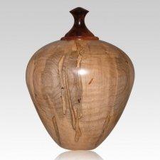 Dilucidis Wood Cremation Urn