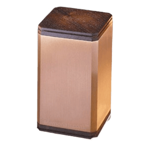 Classic Walnut Wood Cremation Urn