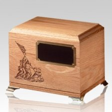 Glory Oak Wood Cremation Urn