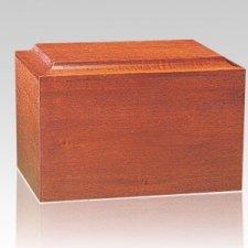 Minimalist Wood Cremation Urn