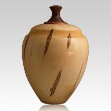 Gratia Wood Cremation Urn