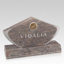 Valley Companion Granite Headstone