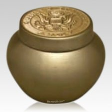 Valor Army Keepsake Urn