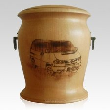 Van Wood Cremation Urn