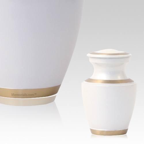 Vanilla Solaris Keepsake Cremation Urn
