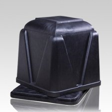 Vantage Black Cremation Burial Vault