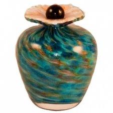 Vela Glass Pet Keepsake Urn