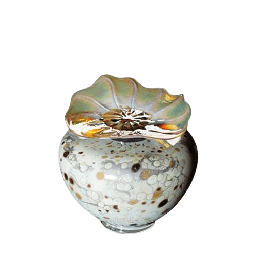 Milano Chartreuse Glass Keepsake Urn