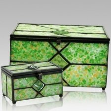 Verde Cathedral Glass Memory Chests