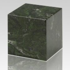Verde Cube Keepsake Cremation Urn